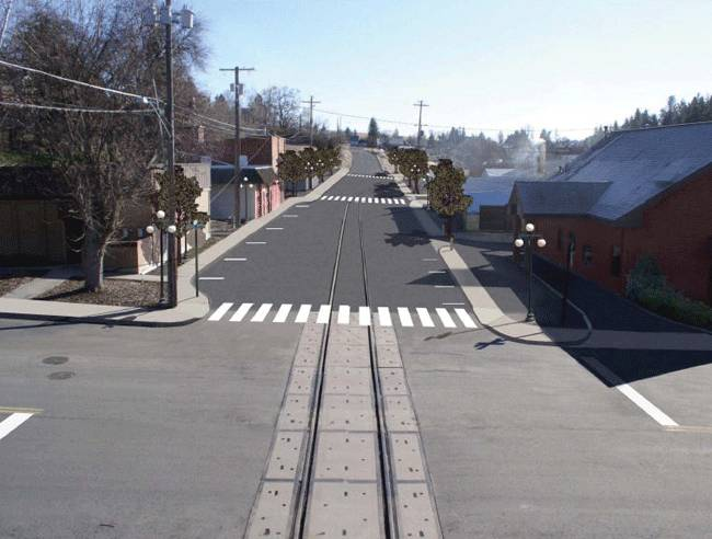 Concept: Washington State DOT artist's rendering of the completed project.